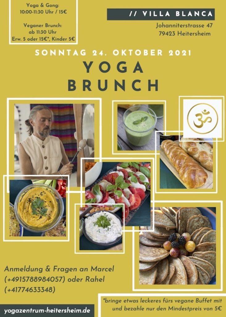 Veganer Yoga Brunch Heitersheim 24. Oktober 2021